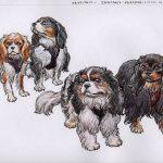 Lou, Blu, Hadley& Pixie - Spring Charles Spaniels